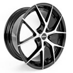 Seitronic® RP5 Alufelge | Exclusiv Design | Machined Face Glossy Black 8J 5x112-ET45-66,6 (18 Zoll)